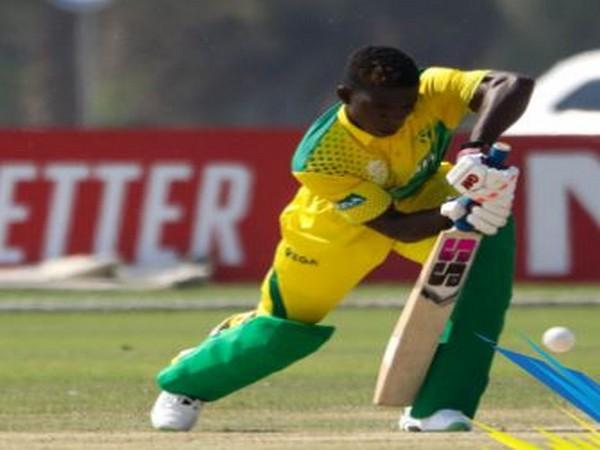 Nigerian batsman Sesan Adedeji (Photo/ T20 World Cup Twitter)