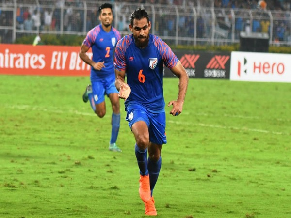 Indian football team defender Adil Khan (Photo/ AIFF)