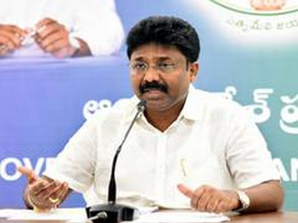Andhra Pradesh education minister Adimulapu Suresh (File Photo)