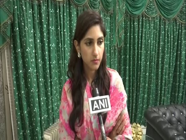 Congress MLA Aditi Singh talking to ANI on Wednesday. Photo/ANI