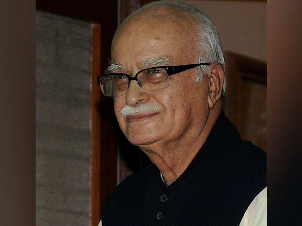 Veteran BJP leader LK Advani
