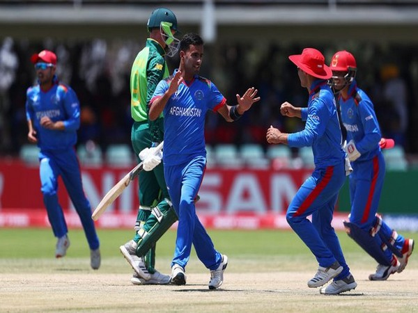 Afghanistan beat South Africa by 7 wickets   Image: ICC's Twitter