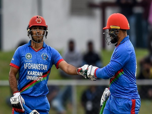 Afghanistan batsmen Samiullah Shinwari and Najibullah Zadran (Image: ICC Twitter)