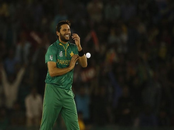 Former Pakistan all-rounder Shahid Afridi
