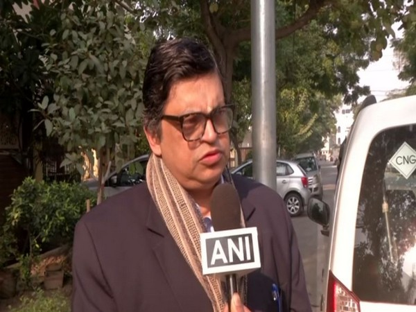 BJP leader Gopal Krishna Agarwal speaking to ANI in New Delhi on Wednesday. Photo/ANI