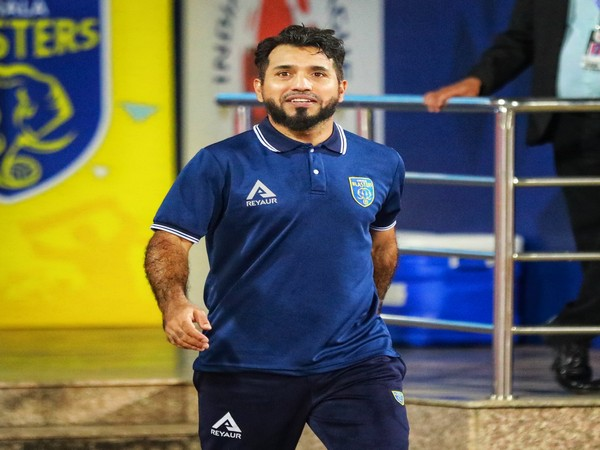 Kerala Blasters' interim head coach Ishfaq Ahmed (Photo/ Kerala Blasters Twitter)