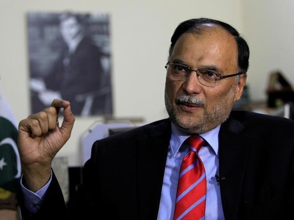 PML-N leader Ahsan Iqbal (File photo)