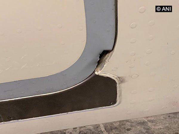 Hole detected on Air India flight AI-183