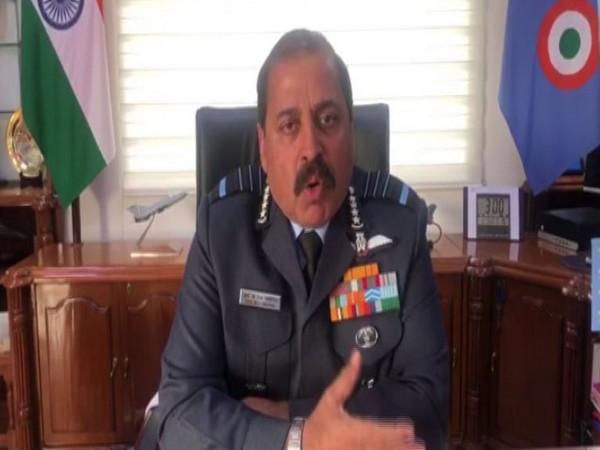 Air Chief RKS Bhadauria. Photo/ANI
