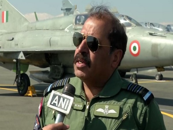 IAF Chief RKS Bhadauria speaking to ANI on Wednesday. Photo/ANI