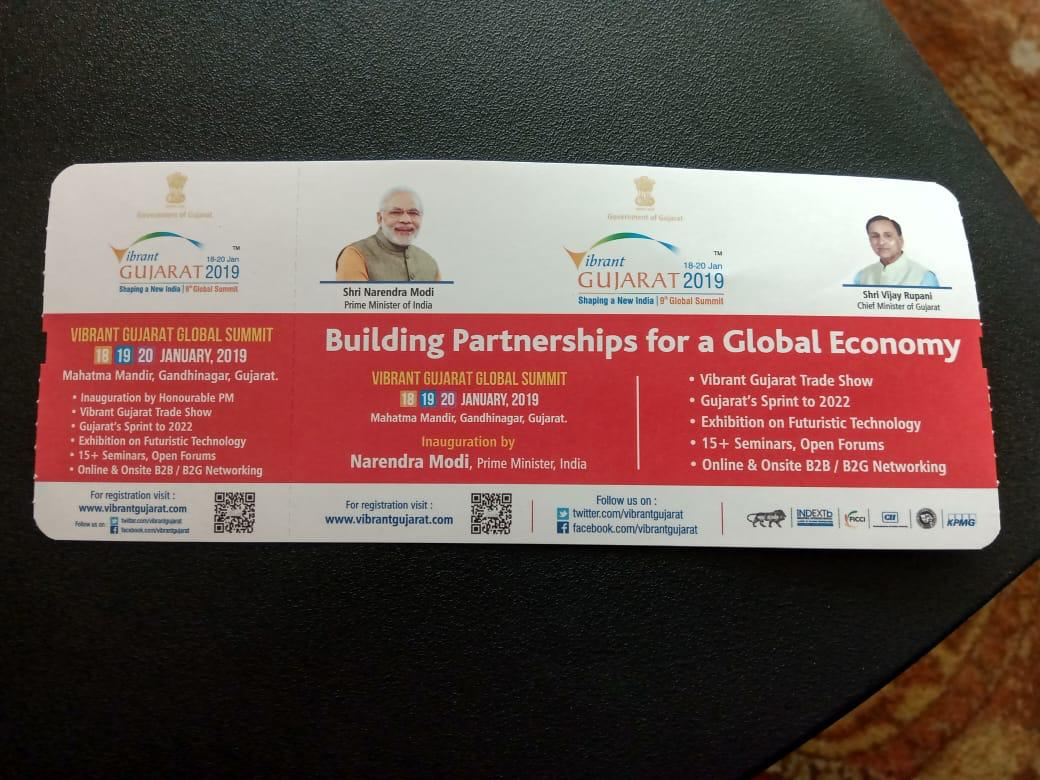 Air India said the boarding passes seem to be the ones left over from those during the Vibrant Gujarat Summit and the photos are third-party advertisements.