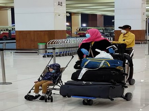 Air India Express special flight from Abu Dhabi arrives at Cochin International Airport with 173 passengers and two infants.
