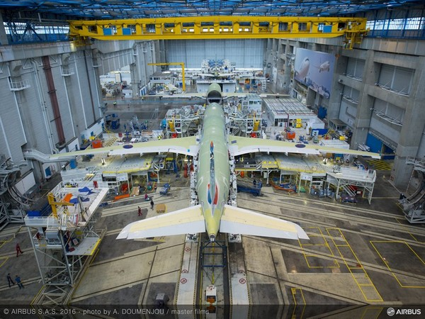 Airbus generated revenues of €64 billion last year and employed a workforce of about 1.34 lakh