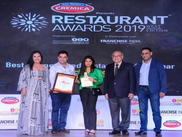 Aishwarya Bhende at Award Ceremony