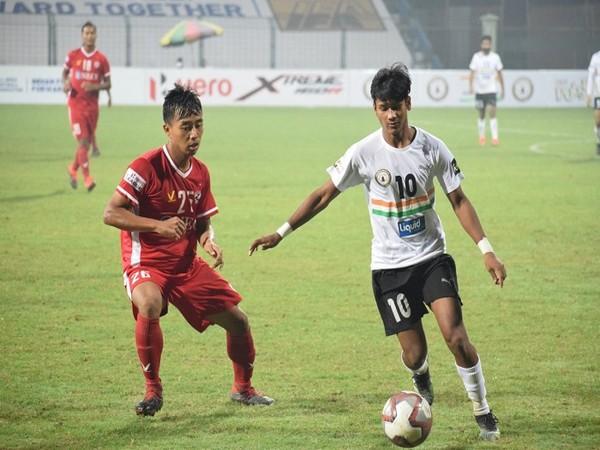 Aizawl FC were held to a 1-1 draw by Sudeva Delhi FC (Image: I-League's Twitter)