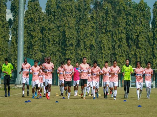 Aizawl FC players (Photo/ AIFF)
