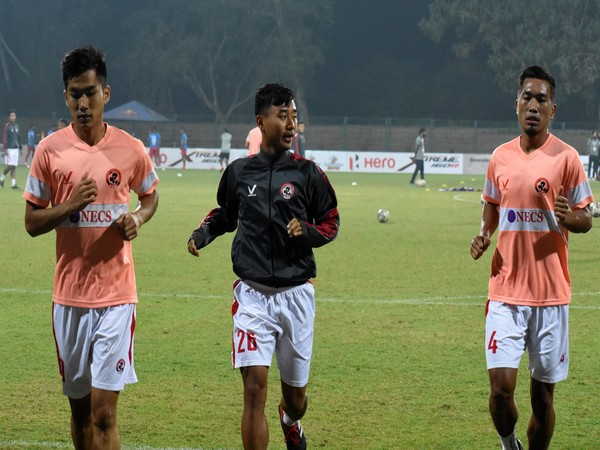 Aizwal FC players (Photo/ I-League Twitter)
