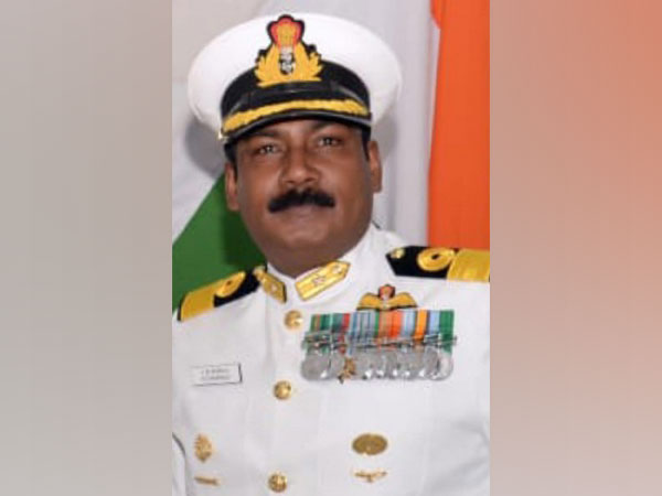 Commodore Ajay Daniel Theophilus took over duties of Commanding Officer, INS Hansa