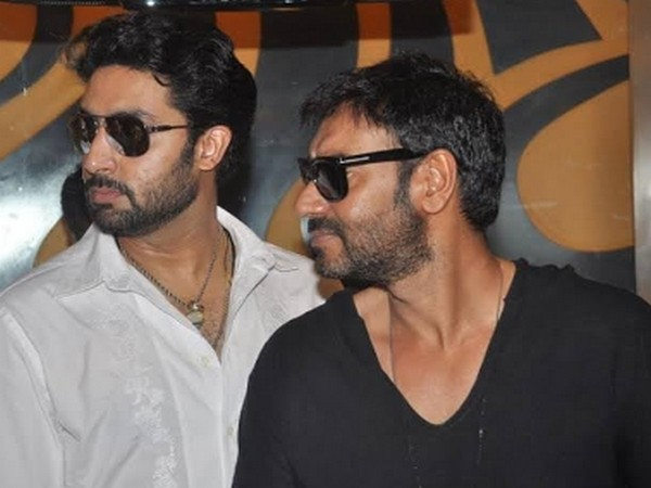 Actors Abhishek Bachchan and Ajay Devgn (Image Source: Instagram)