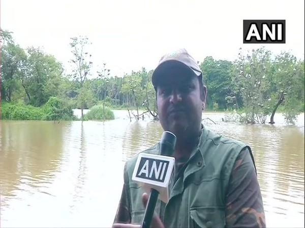 Environmentalist Ajay Sharma speaking to ANI. Phto/ANI