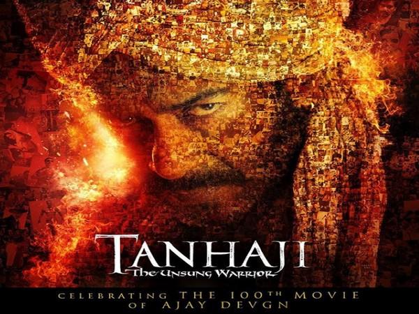 Ajay Devgn in 'Tanhaji: The Unsung Warrior' poster (Image Courtesy: Instagram)