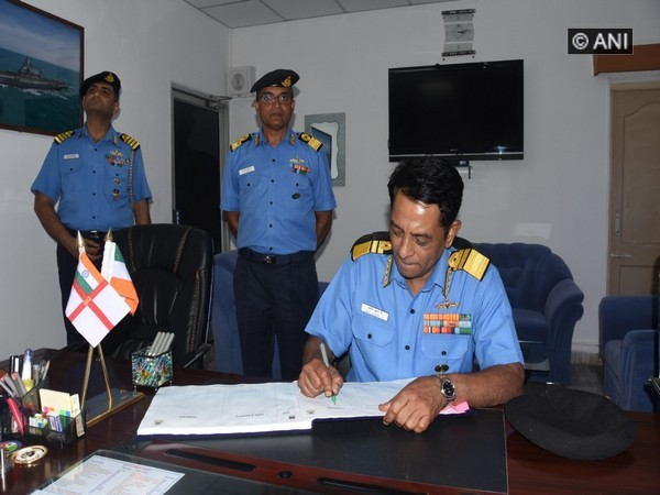 Vice Admiral Ajit Kumar P in Goa for his second visit after he assumed the office.
