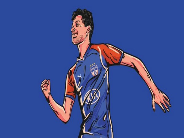 Indian defender Ajith Kumar. (Photo/Bengaluru FC Twitter)