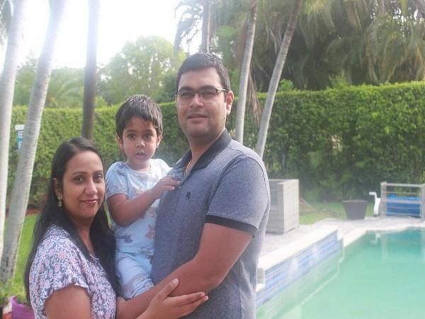 Akash Patel and Navneet Kaur