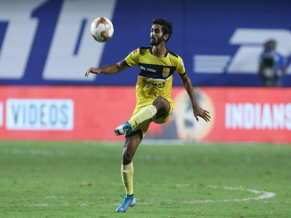 Hyderabad FC defender Akash Mishra (Photo/ AIFF)