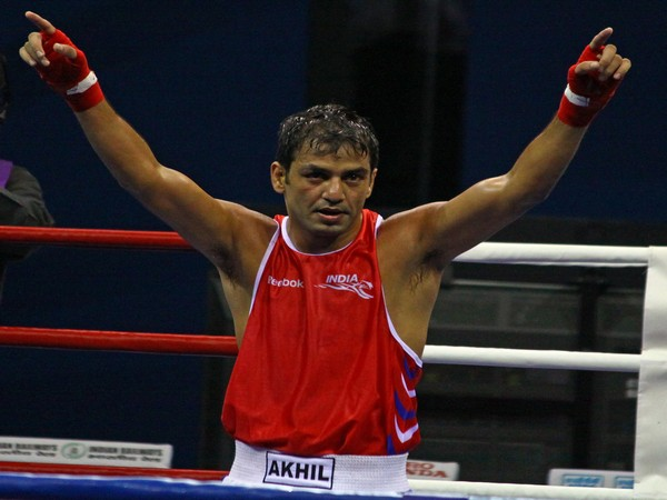 Former Indian boxer Akhil Kumar