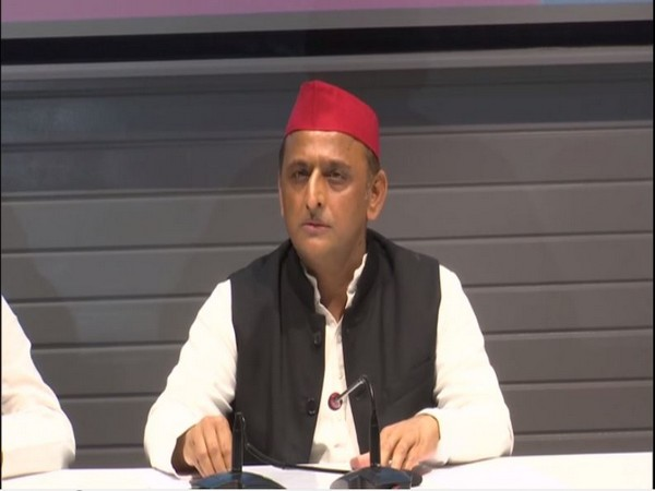 Samajwadi Party chief Akhilesh Yadav. (Photo/ANI)