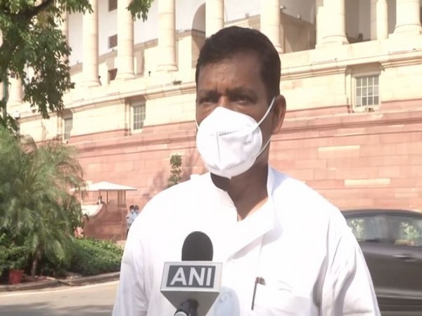 Congress Rajya Sabha MP from Bihar Akhilesh Prasad Singh speaking with ANI on Friday.