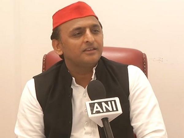 Samajwadi Party President Akhilesh Yadav. [Photo/ANI]