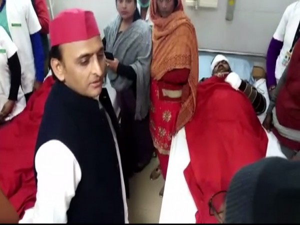 In a video of the incident, Yadav is seen reprimanding a senior consultant doctor. Photo/ANI