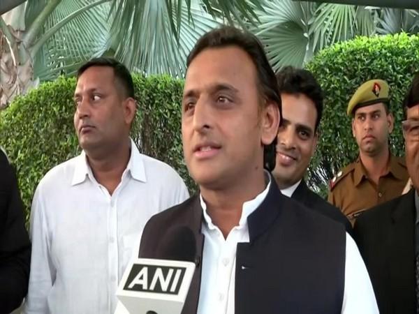 Samajwadi Party (SP) leader Akhilesh Yadav. File photo/ANI
