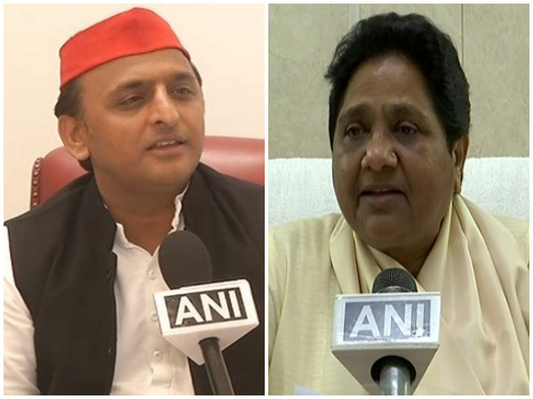SP president Akhilesh Yadav / BSP supremo Mayawati (File photo)