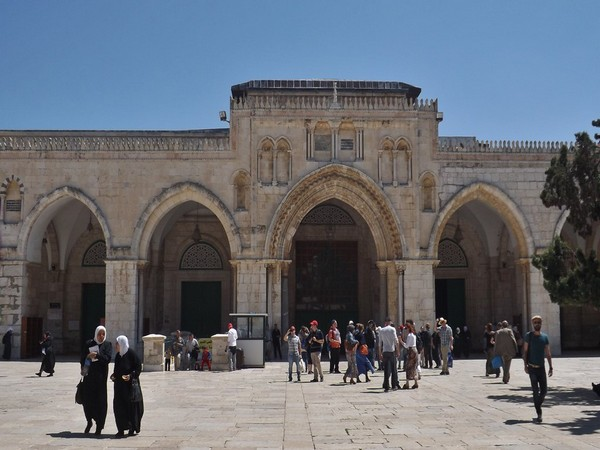Al Asqa Mosque compound in Jerusalem