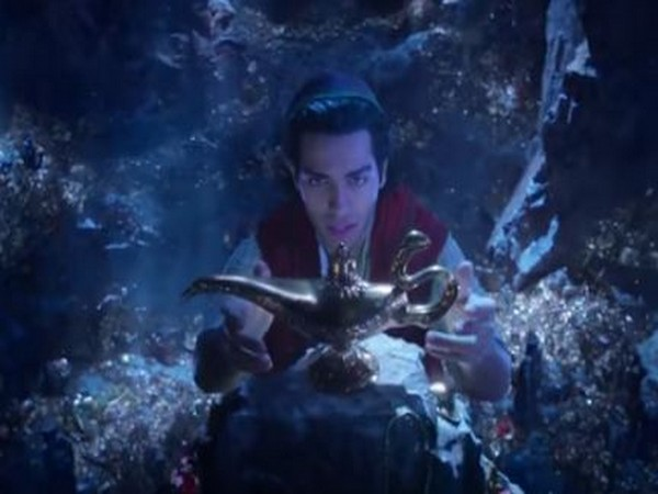 A still from 'Aladdin' teaser trailer