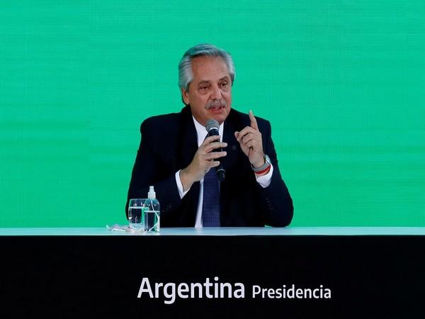 Argentine President Alberto Fernandez (Photo Credit - Reuters)