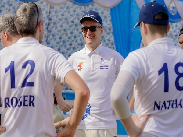 British High Commissioner to India Alex Ellis takes field for BHC Lions