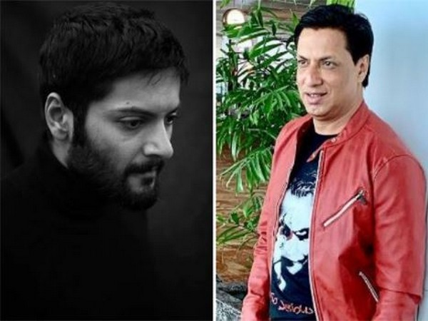 Actor Ali Fazal and Director Madhur Bhandarkar (Image courtesy: Instagram)