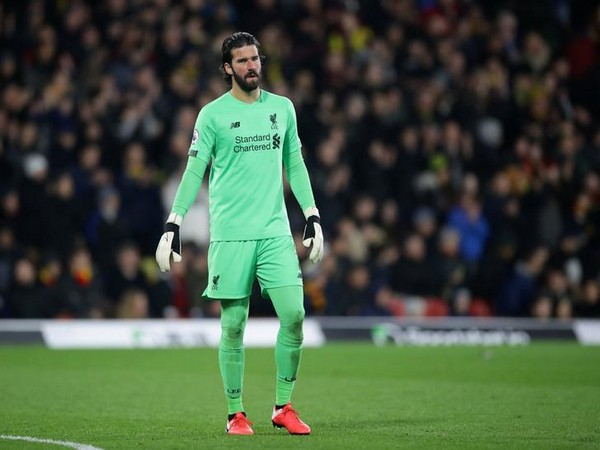 Liverpool's goalkeeper Alisson Becker