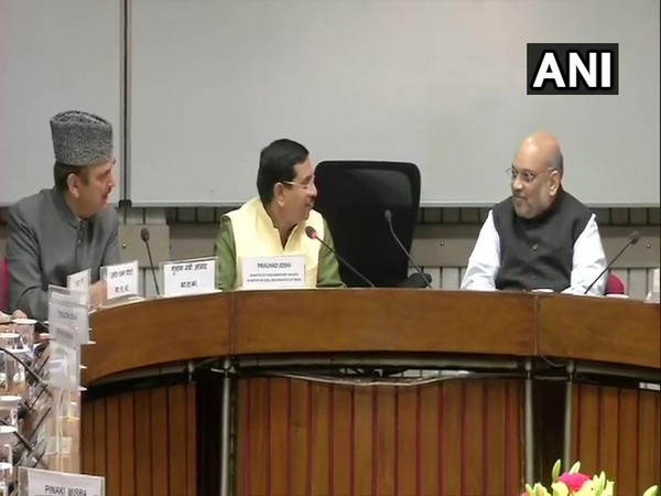 Visual from the all-party meet. (Photo/ANI)
