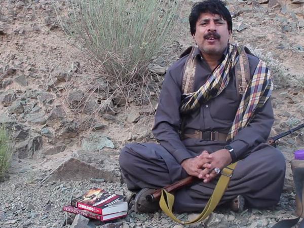 Pro-independence Baloch leader, Allah Nazar Baloch (File pic)