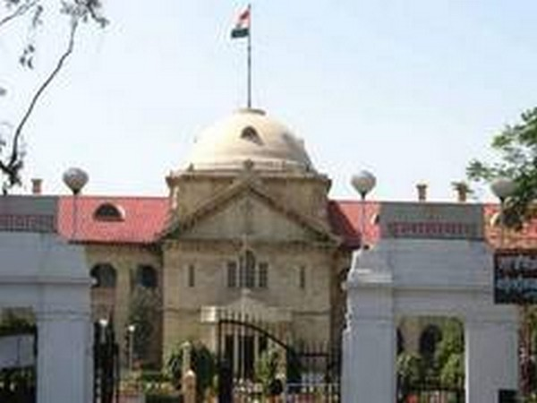 A view of the Allahabad High Court
