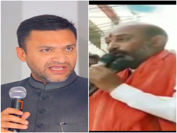 AIMIM's Akbaruddin Owaisi (Left) and  BJP's Bandi Sanjay (File photo)