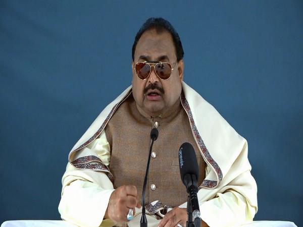 Founder leader of Muttahida Quami Movement (MQM), Altaf Hussain