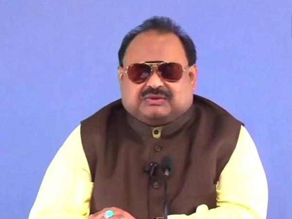 MQM chief Altaf Hussain (File pic)