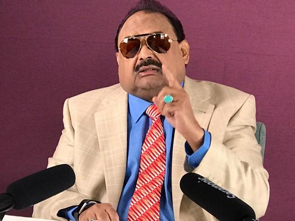 Founder and leader of Muttahida Quami Movement (MQM) Mr. Altaf Hussain