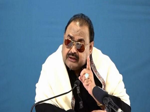 Muttahida Qaumi Movement (MQM) leader Altaf Hussain (File photo)